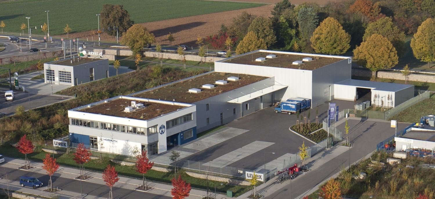 Unsere Produktionsstätte, Lager und Verwaltung in Heidelberg.