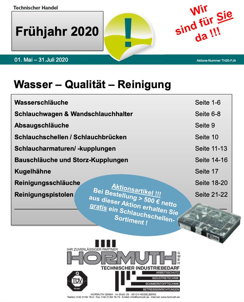 2020_HormuthGmbH_Broschuere_Wasserschlauch_Zubehoer_COVER